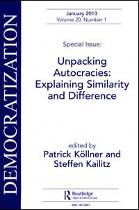 Buchcover Unpacking Autocracies: Explaining Similarity and Difference