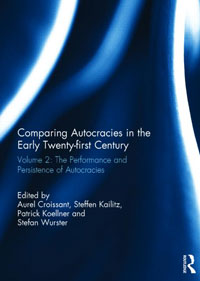 Buchcover Comparing Autocracies in theEarly Twenty-first Century
