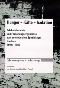 Buchcover Hunger – Kälte – Isolation