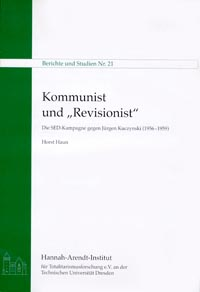 "Book coverKommunist und ""Revisionist"""