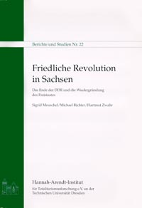 Book coverFriedliche Revolution in Sachsen