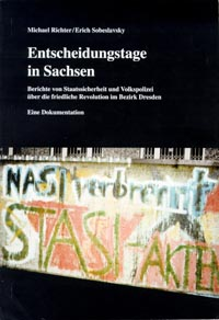 Book coverEntscheidungstage in Sachsen
